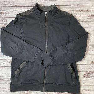 Calvin Klein Black Zip Up jacket